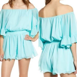 New Endless Rose Aqua Romper